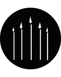 Candles gobo
