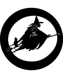 Witch with Cat gobo