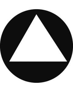Triangle gobo