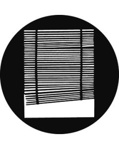 Crooked Blinds gobo