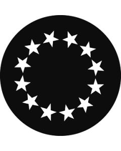 Circle of Large Stars gobo