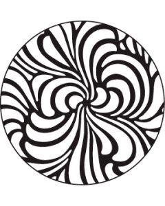 Swirls Steel gobo
