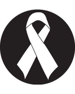 Awareness Ribbon gobo