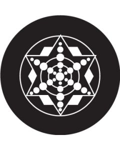 Five Point Star Crop Circle gobo