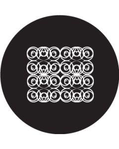 Scroll Crop Circle gobo
