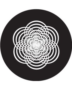 Rounded Star Crop Circle gobo