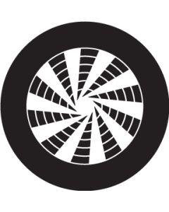 Pinwheel Crop Circle gobo