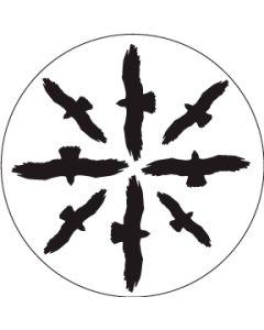Circling Birds Silhouette 1 gobo