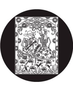 Day of the Dead Dancing Couple gobo