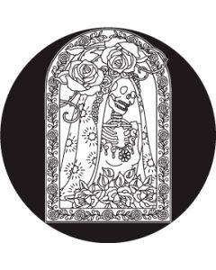 Day of the Dead Bride gobo