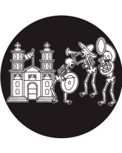 Day of the Dead Band gobo