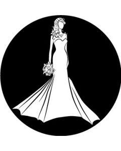 Bride Silhouette Wedding gobo