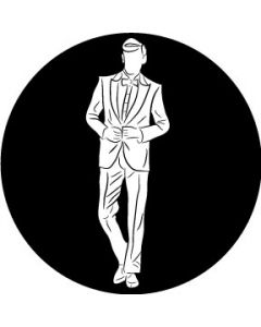 Groom Silhouette Wedding gobo