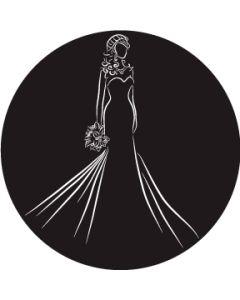 Bride Silhouette W/Bouquet gobo