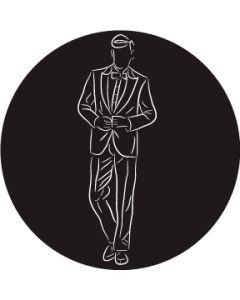 Groom in Suit gobo