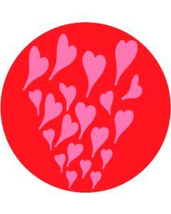 Rising Hearts gobo