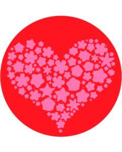 Filled Heart gobo