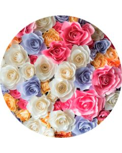 Bright Colors Rose Bouquet gobo