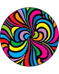 Swirls gobo