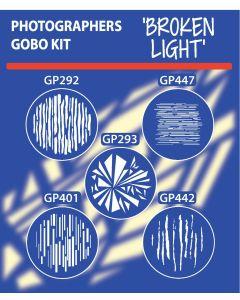 Broken Light Gobo Kit gobo