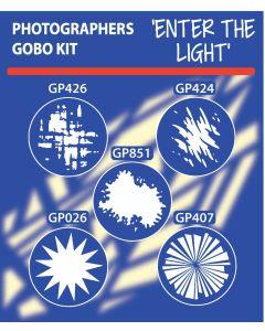 Enter The Light Gobo Kit gobo