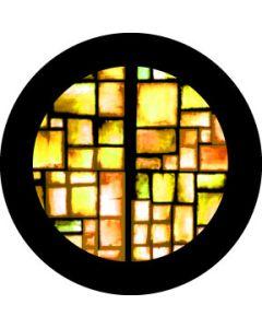 Amber squares gobo