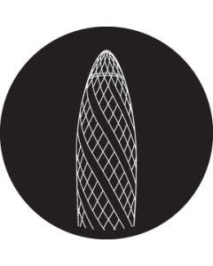 London Gherkin gobo