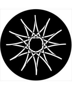 Symmetric 17 gobo