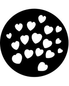 Hearts gobo