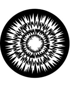 Jagged Circles gobo