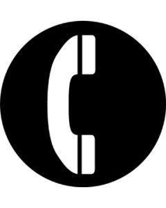 Telephone gobo