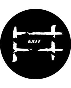 Exit 2 gobo