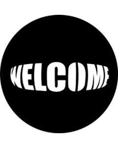 Welcome gobo