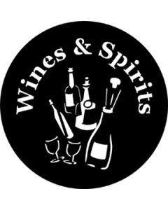 Wines and Spirits gobo