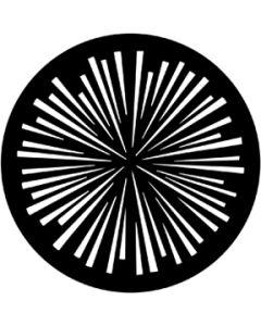 Radial Lines gobo