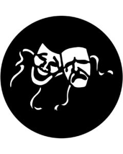 Comedy and Tragedy gobo