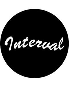 Interval gobo