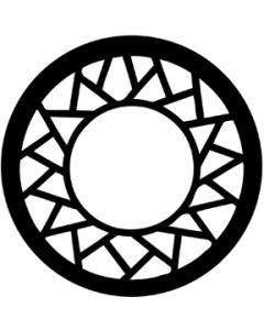 Sun Circle gobo