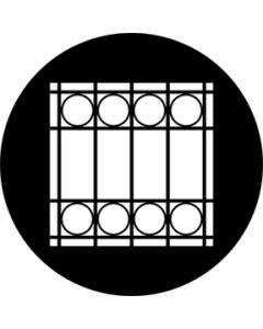 Window Grate gobo
