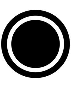 Circle Outline gobo