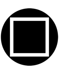 Square Outline gobo