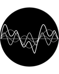 Oscillating Waves Negative gobo