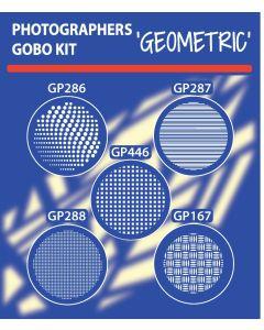 Geometric Gobo Kit gobo