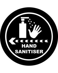 Hand Sanitiser Left gobo