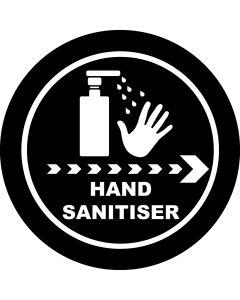 Hand Sanitiser Right gobo
