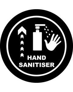 Hand Sanitiser Ahead gobo