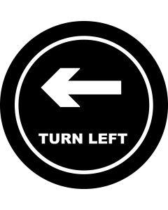 Turn Left Arrow gobo