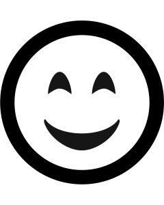 Smile Face Emoji gobo