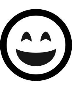Grinning Face Emoji gobo