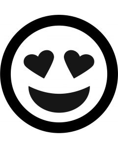 Heart Eyes Face Emoji gobo